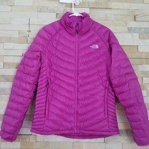 North Face Womens Medium Purple Down Puffer Jacket